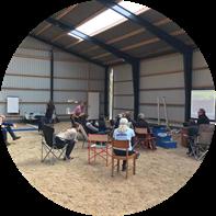 Kursus ved Dagmars Hestetræning